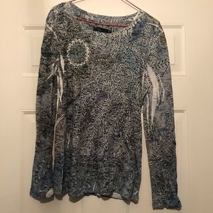 Prana print top Large